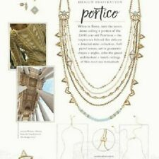 Chloe and Isabel Portico Multi-Row Necklace N387 - NEW - RARE - RETIRED