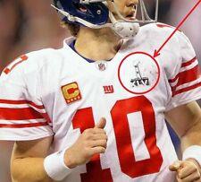 AFL-NFL SUPER BOWL XLVI 46 New York Giants/Patriots SUPER BOWL XLVI JERSEY PATCH