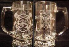 Fireman, Firefighter, Personalized engraved Maltese Mug