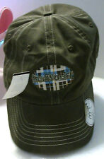 "NWT ""SEA WORLD"" Baseball CAP Hunter Khaki Green 100% Cotton Tx Theme Park Logo"