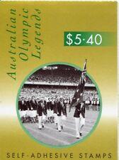 1998 Australian Olympic Legends -  Stamp Booklet 12 x 45c (SB119)