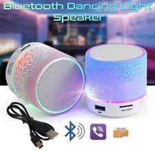 AudioBlue-LED Mini Portable Bluetooth Speaker A9 USB Music Sound Subwoofer