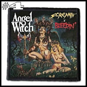 ANGEL WITCH --- Patch / Aufnäher --- Various Designs