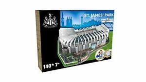 NANOSTAD 3895 Newcastle United St James Park 3D Puzzle, Multi Coloured