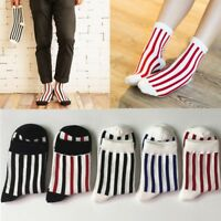 Men Women Winter Cotton Breathable Athletic Casual  Striped Nonslip   N