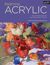 Portfolio: Beginning Acrylic: Tips and techniques for learning to paint in acryl