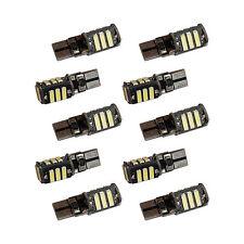 10x 11 LED Standlicht T10 Xenon Weiss für Scheinwerfer 12 Volt  COB 1,5W 12VSMD