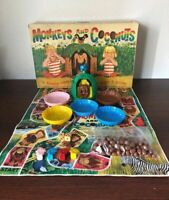 Vintage 1965 Monkeys and Coconuts Game by Schaper - Marvin Glass Design