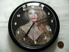 More details for girls aloud (nicola) - wall clock.