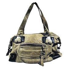 B. Makowsky Leather Satchel Handbag