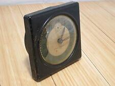 Rare Vintage Retro Copley Square Clock Black Green White for Parts or Repair