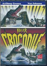 Killer Crocodile (1988) DVD NUOVO SEALED Anthony Crenna Van Johnson Ann Douglas