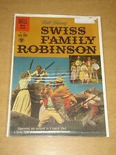 FOUR COLOR #1156 FN+ (6.5) DELL COMICS SWISS FAMILY ROBINSON DECEMBER 1960