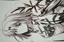 The Garden of Sinners - Shiki Ryougi official PROMO Reversible Folded Poster