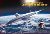 "AMP 72-014 - 1/72 - ""Silbervogel"" Third Reich sub-orbital bomber scale model UK"