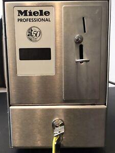 Miele C 4065 Professional Münzkassiergerät Münzzeitzähler für 50 Cent