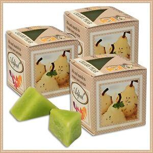 3 x Duftwachs Cremige Birne | Aroma Duftkerze Schmelzwachs Wax Aromatic