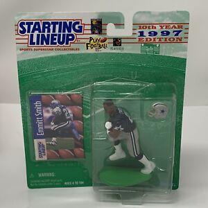 Emmitt Smith Dallas Cowboys NFL Starting Lineup Action Figure NIB Kenner 1997