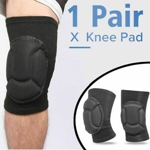 1 Pair Professional Knee Pads Construction Comfort Leg Protectors Work Safety C