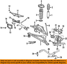 rear control arms \u0026 parts for jaguar xj8 for sale ebayjaguar oem 98 03 xj8 rear suspension support bushing cac4713