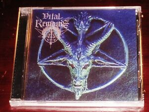 Vital Remains: Forever Underground CD 1997 Osmose Productions France OPCD050 NEW