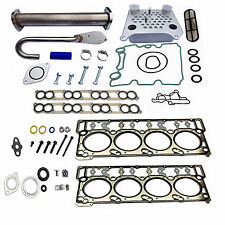 Ford 6.0L EGR Delete Kit Head Gasket Set Engine Oil Cooler & Intake Gaskets