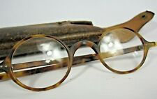 Vintage J Lizars Tortoiseshell Spectacles in Leather Case - Collectable Glasses