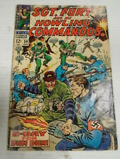 Marvel SGT. FURY AND HIS HOWLING COMMANDOS #59 (1968) Hitler Appears, Severin