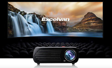 LED HD 1080p Projector Multi-media LCD 3d Home Cinema Theater 2600 Lumens (Y130)