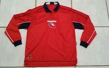 Rare Vintage UMBRO  Chile  National Team Long Sleeve  Soccer Jersey Men's XL