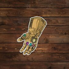 Thanos Infinity Gauntlet Vector Illustration Decal/Sticker