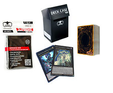 *50* YuGiOh! Cards Pack with XYZ, Holos, Ultimate Guard Deck Box & Sleeves