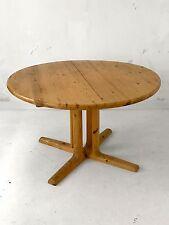 1970 DYRLUND 1 TABLE A RALLONGE MODERNISTE BAUHAUS DANSK SCANDINAVE SPACE-AGE