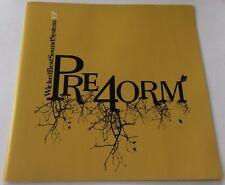 WICKED BEAT SOUND SYSTEM Pre4orm CD EP 2004 Preform oz aussie 6trks WBSS