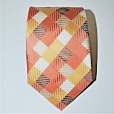 BOCARA Geometric 100% Silk Hand Made NWT