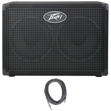 """Peavey Headliner 210 2x10"""" 8 Ohms Bass Guitar Amp Extension Cabinet +FREE Cable"""