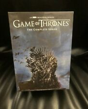 GAME OF THRONES COMPLETE SERIES SEASONS 1-8 (DVD, 38-Disc Boxed Set) SEALED