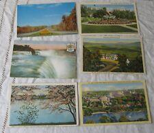 lot of 6 Vintage Postcards, North America, USA, Canada