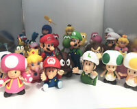 "5"" Super Mario Bros Brothers Luigi Toy PVC Action Figures Loose Toy"