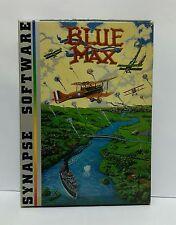 New & OPEN BOX BLUE MAX CASSETTE  FOR THE ATARI 800 VINTAGE VERY RARE