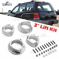 "Billet 3"" Suspension Lift Kit Spacers For Subaru Forester/Impreza/Legacy Saab 92"