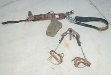 Vintage Bell Sytstem Telephone Linemans' belt harness and foot hold equiptment