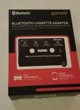 Bluetooth  Car Audio Cassette Tape Adapter MP3 Player AUX  Phone Android Simple