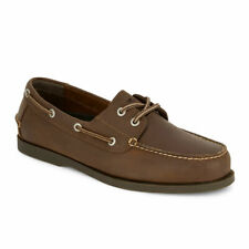 Dockers Mens Vargas Genuine Leather Casual Classic Rubber Sole Boat Shoe