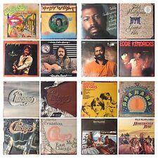 CLASSIC ROCK & ROLL Albums LP 33rpm Vinyl Records (Auction#8)