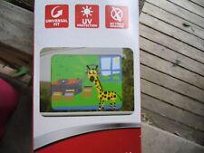 Auto Drive Giraffe Glow In The Dark Cling Sunshade UV Protection