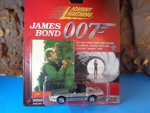 JOHNNY LIGHTNING HO SCALE JAMES BOND CHEVROLET CORVETTE A VIEW TO KILL  6-63-14