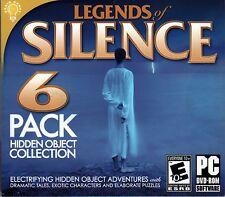 Legends Of Silence PC Games Windows 10 8 7 XP Computer hidden object pack NEW