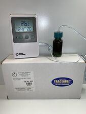 Fisher Scientific Traceable Refrigerator/Freezer Alarm Thermometer 06-664-11