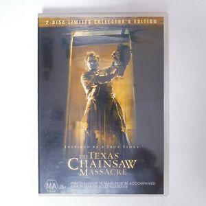 The Texas Chainsaw Massacre Movie DVD Region 4 Free Postage - Horror Slasher